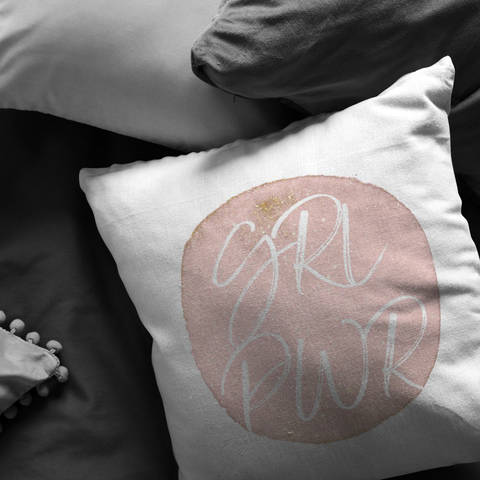 GRL PWR | Pillow [Glam Edition]