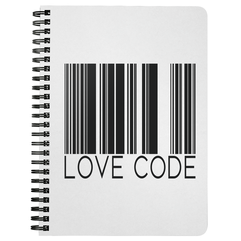 Love Code | Spiralbound Notebook