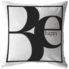Be Happy | Pillow