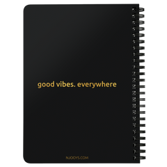 Be Grateful | Spiralbound Notebook [Glam Edition]