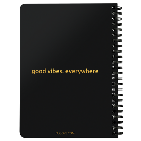 Be Adventurous | Spiralbound Notebook [Glam Edition]