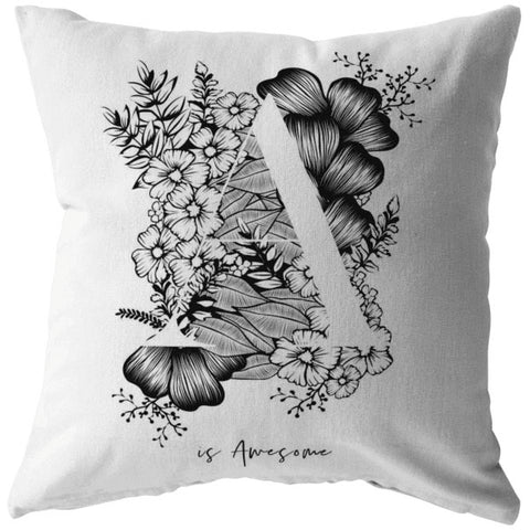 A... Is Awesome | Throw Pillow