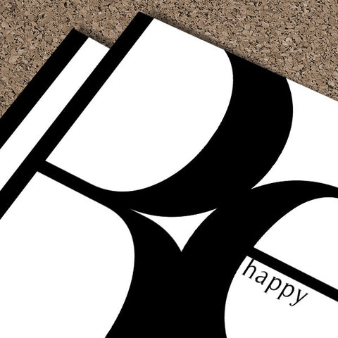 Be Happy | Digital Poster Download