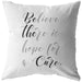 Be The Cure | Throw Pillow