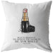 Beauty Begins In The Moment... | Throw Pillow