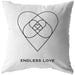 Endless Love | Throw Pillow