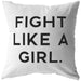 Fight Like A Girl | Throw Pillow
