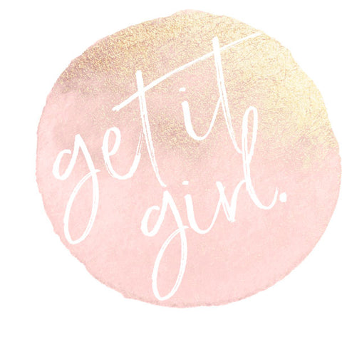 Get It Girl | Framed Fine Art Print [Glam Editon]