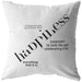 Happiness Is... | Throw Pillow