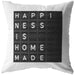 Happiness Is Homemade | Throw Pillow