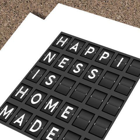 Happiness Is Homemade | Fine Art Print
