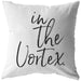 In The Vortex | Throw Pillow