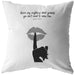Never Say Anything About... | Throw Pillow