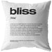 Nitty Gritty Bliss | Throw Pillow