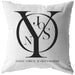 Njooys Good Vibes Everywhere | Throw Pillow