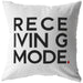 Receiving Mode | Throw Pillow