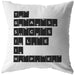 The Greatest Success In Life... | Throw Pillow