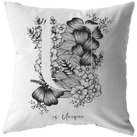 U... Is Unique | Throw Pillow