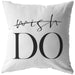 Wish Do | Throw Pillow