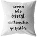 Women Who Invest... | Throw Pillow