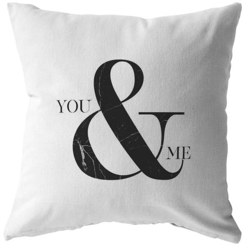 You & Me | Throw Pillow