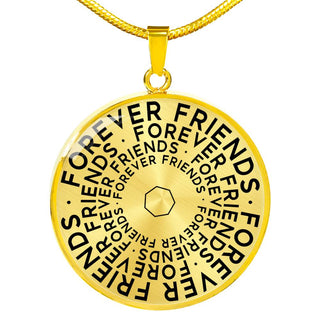 Forever Friends | Mantragon Necklace [Silver + Gold]