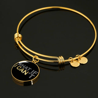 What If I Can | Luxury Circle Bangle [Silver + Gold]