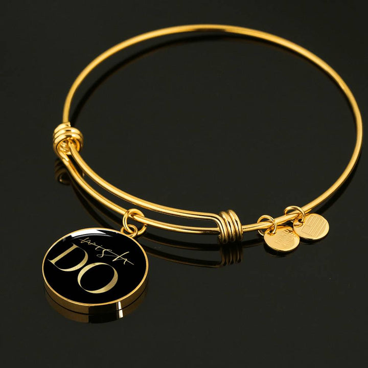 Wish Do | Luxury Circle Bangle [Silver + Gold]