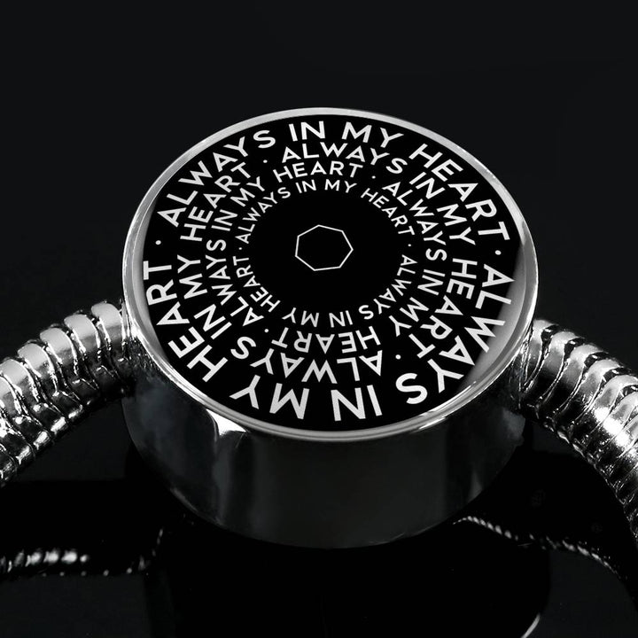 Always In My Heart | Mantragon Luxury Bracelet [Black Edition]