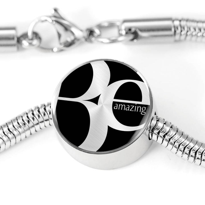 Be Amazing | Luxury Circle Charm Bracelet