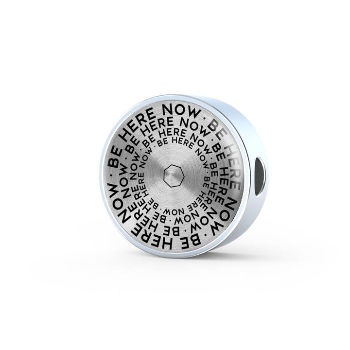 Be Here Now | Mantragon Luxury Circle Charm [Only]