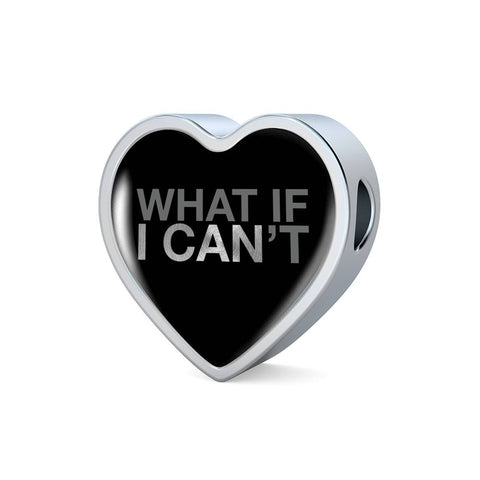 What If I Can | Luxury Heart Charm [Only]