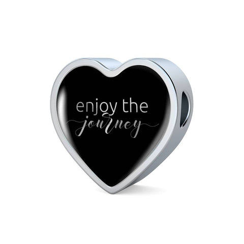 Enjoy The Journey | Luxury Heart Charm [Only]