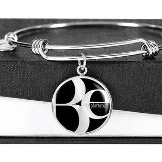Be Adventurous | Luxury Circle Bangle [Silver + Gold]