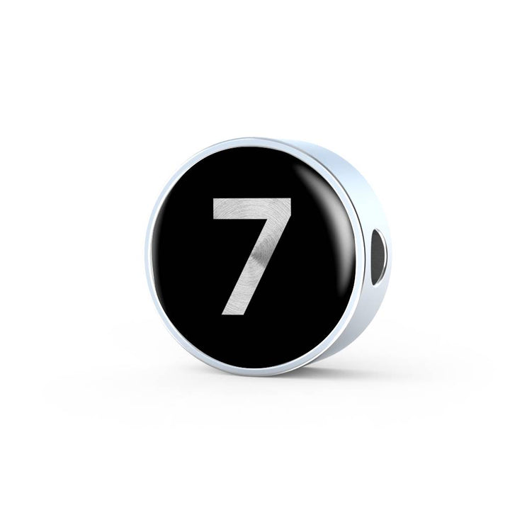 The 7 | Tell A Story Circle Charm Number