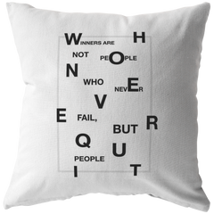 Winners Are Not People... | Pillow