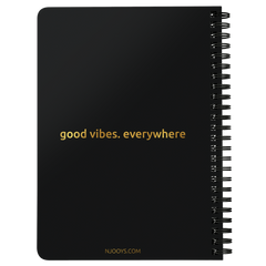Follow Your Bliss | Spiralbound Notebook [Glam Edition]