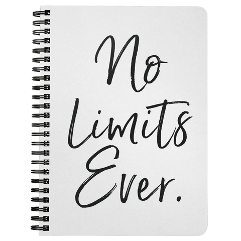 No Limits Ever | Spiralbound Notebook