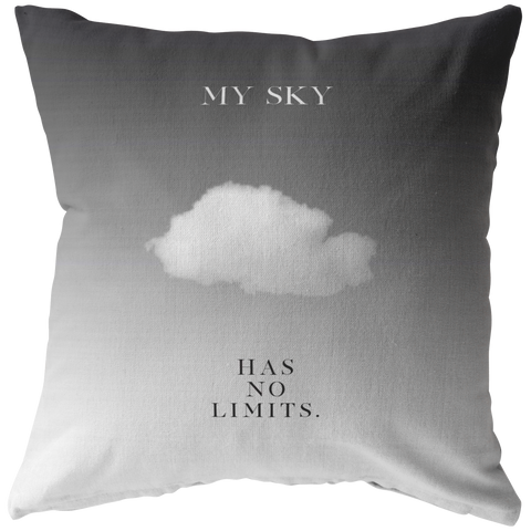 My Sky Has No Limits | Pillow