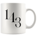 1 4 3 I Love You | Mug 11oz