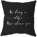 As Long As Stars Are Above You | Pillow [Black Edition]