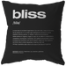 Nitty Gritty Bliss | Pillow [Black Edition]