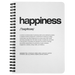 Nitty Gritty Happiness | Spiralbound Notebook