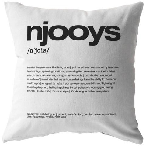 Nitty Gritty Njooys | Pillow