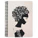 Unlimited Girl Power | Spiralbound Notebook [Glam Edition|