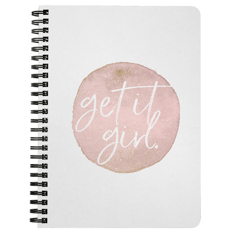 Get It Girl | Spiralbound Notebook [Glam Edition]