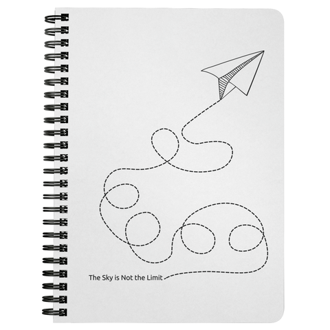 The Sky Is Not The Limit | Spiralbound Notebook
