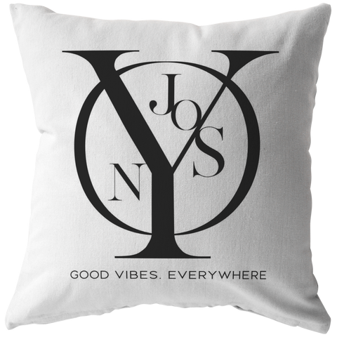 Njooys Good Vibes Everywhere | Pillow