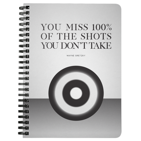 You Miss 100% Of The Shots... | Spiralbound Notebook