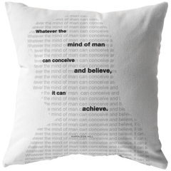 Whatever The Mind Of Man Can... | Pillow
